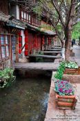 Travel photography:Water canal in Lijiang´s old town , China