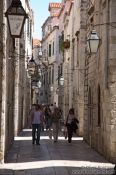 Travel photography:Alley in Dubrovnik, Croatia