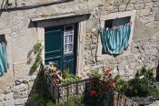 Travel photography:Old house in Dubrovnik, Croatia