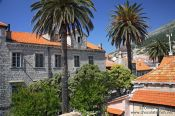 Travel photography:Dubrovnik houses, Croatia