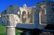 Travel photography:Roman ruins in Rab, Croatia