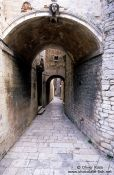 Travel photography:Small passage in Rab, Croatia