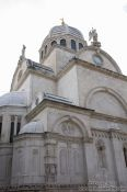 Travel photography:Sibenik Cathedral of Saint Jacob, Croatia
