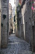 Travel photography:Alley in Trogir, Croatia
