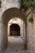 Travel photography:Passage in Trogir, Croatia