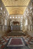 Travel photography:The Kapela de Sveti Ivana (Chapel of Saint John) inside the Katedrala Sveti Lovrijenac (Saint Lawrence Cathedral) in Trogir, Croatia