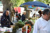 Travel photography:Market in Trogir, Croatia