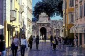 Travel photography:Street in Zadar, Croatia