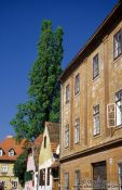 Travel photography:Houses close to Strossmayer Setaliste (Strossmayer Promenade), Croatia