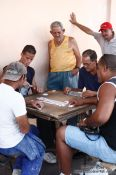Travel photography:Playing domino in Cienfuegos, Cuba