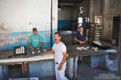 Travel photography:Sancti-Spiritus bakery, Cuba