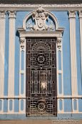 Travel photography:Door in Sancti-Spiritus, Cuba