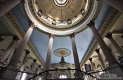 Travel photography:Inside the public library in Sancti-Spiritus, Cuba