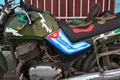 Travel photography:Revolution bike in Sancti-Spiritus, Cuba