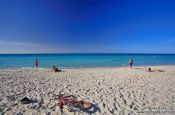 Travel photography:Bike on Varadero beach, Cuba