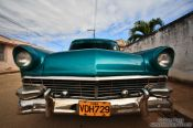 Travel photography:Classic car in Remedios, Cuba