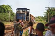 Travel photography:Train from Remedios to Santa Clara, Cuba