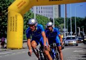Travel photography:The Shimano Team at the Eindhoven UCI Team Trial, The Netherlands