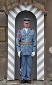 Travel photography:Castle guard, Czech Republic