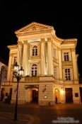 Travel photography:The Estates Theatre by night (Ständetheater), Czech Republic