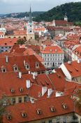 Travel photography:Prague rooftops in the Lesser Quarter, Czech Republic