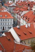 Travel photography:Street in the Lesser Quarter, Czech Republic