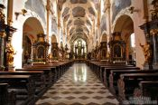 Travel photography:Inside the chapel at Strahov Monastery (Strahovský klášter), Czech Republic