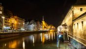Travel photography:Strasbourg by night, France