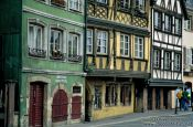 Travel photography:Old houses in Strasbourg, France