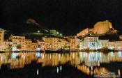 Travel photography:Bonifacio by Night, France