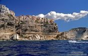 Travel photography:Bonifacio from the Water, France
