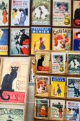Travel photography:Old postcards for sale in Paris´ Montmartre district, France