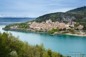 Travel photography:Bauduen on the Lac Sainte Croix in Haute Provence, France