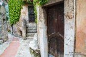Travel photography:Small street in Eze, France