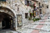 Travel photography:Stairs in Eze, France