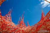 Travel photography:Homage to Alexander Calder at the museum of modern and contemporary art (Mamac) in Nice, France