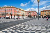 Travel photography:The Place Masséna in Nice, France