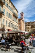 Travel photography:The old town in Nice, France