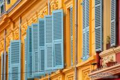 Travel photography:Nice houses, France