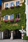 Travel photography:Town hall in Isny , Germany
