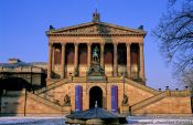 Travel photography:Berlin Old National Gallery (Alte Nationalgalerie), Germany