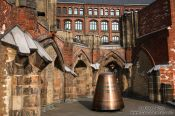 Travel photography:Hamburg city war memorial, Germany