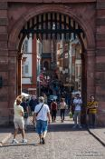 Travel photography:The city gate in Heidelberg, Germany