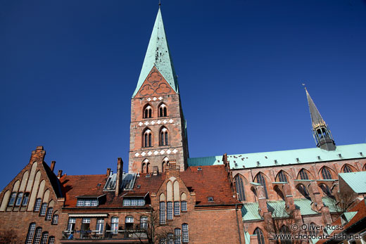 St. Mary´s church (Marienkireche) in Lübeck