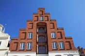 Travel photography:House in Lübeck, Germany