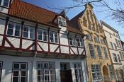 Travel photography:Houses in Lübeck, Germany