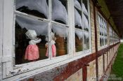 Travel photography:Facade of old farm house, Germany