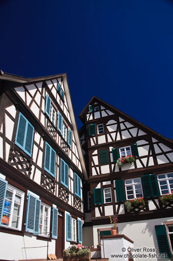 Half-timbered houses in Gengenbach