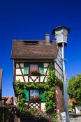 Travel photography:Half-timbered house in Gengenbach , Germany