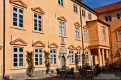 Travel photography:Eutin castle courtyard, Germany